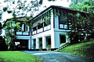 Our house in Singapore where we lived for eight years