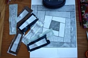 Scraps & pattern